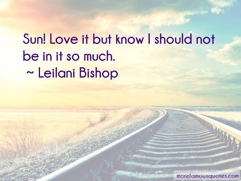 Leilani Bishop Quotes Pictures 4