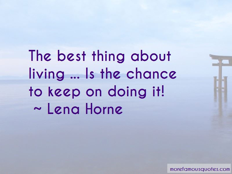 Lena Horne Quotes Pictures 2