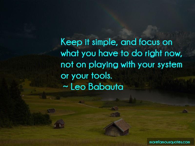 Leo Babauta Quotes Pictures 3