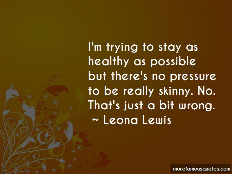 Leona Lewis Quotes Pictures 3