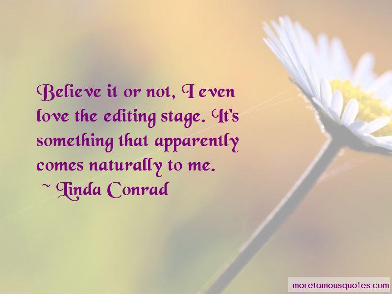 Linda Conrad Quotes Pictures 2