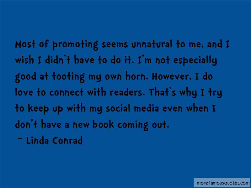 Linda Conrad Quotes Pictures 3