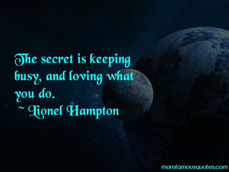 Lionel Hampton Quotes Pictures 2
