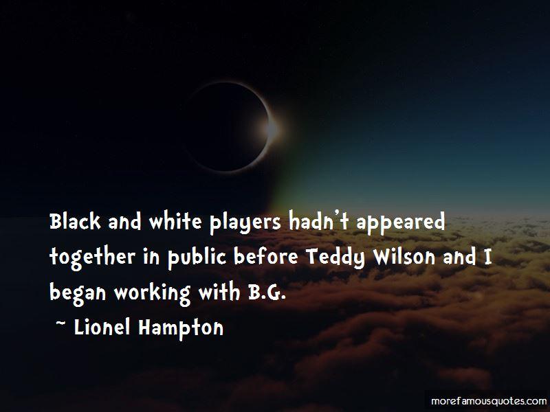 Lionel Hampton Quotes Pictures 3