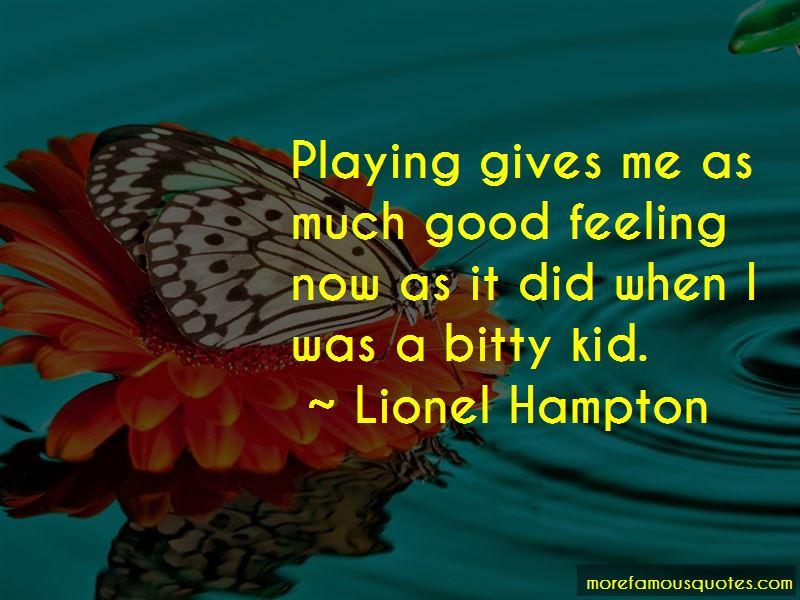 Lionel Hampton Quotes Pictures 4