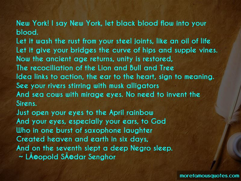 Leopold-Sedar-Senghor Quotes