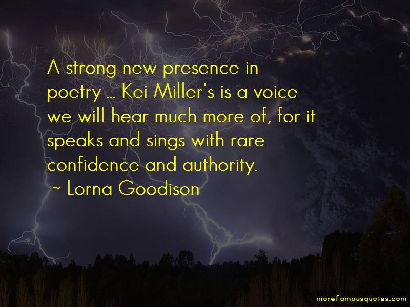 Lorna Goodison Quotes