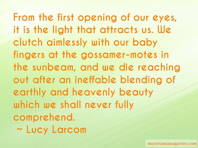 Lucy Larcom Quotes