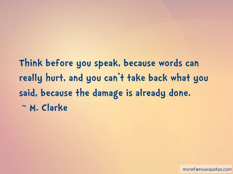 M. Clarke Quotes Pictures 2