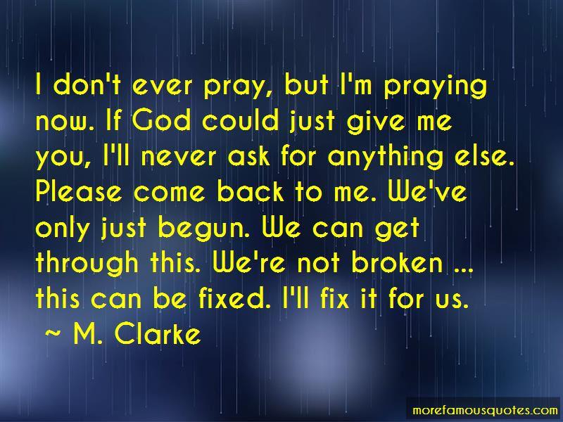 M. Clarke Quotes Pictures 3