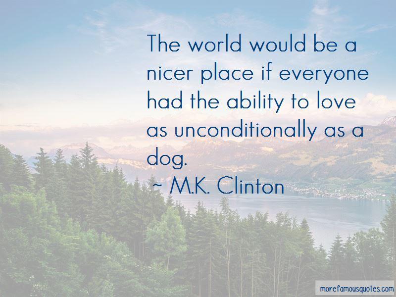 M.K. Clinton Quotes Pictures 2