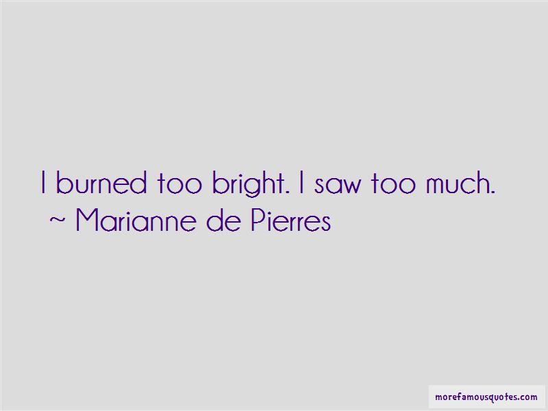 Marianne De Pierres Quotes Pictures 4