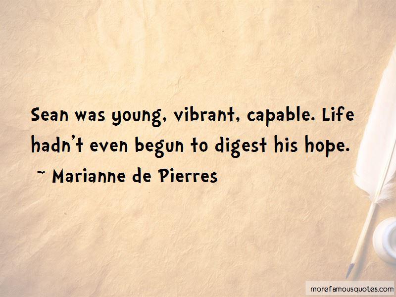 Marianne De Pierres Quotes