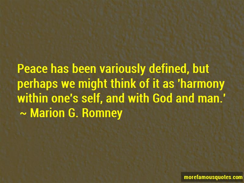 Marion G. Romney Quotes