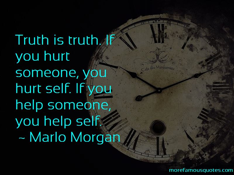 Marlo Morgan Quotes Pictures 3