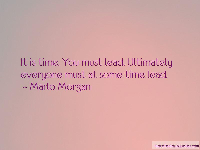 Marlo Morgan Quotes