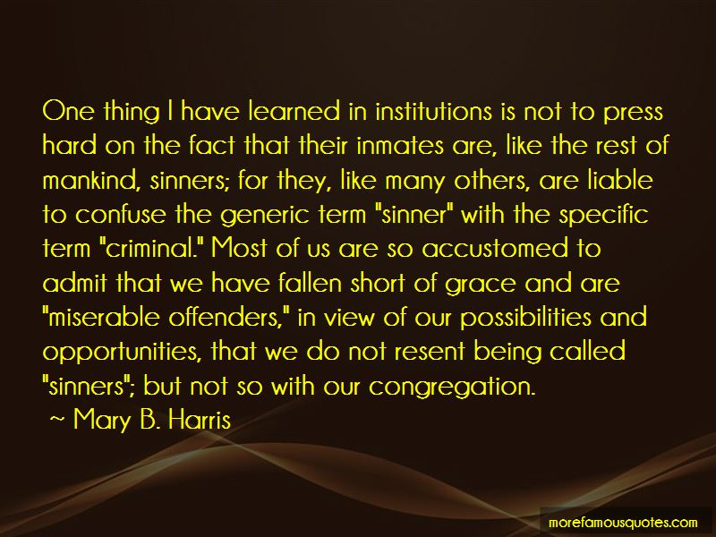 Mary B. Harris Quotes Pictures 4