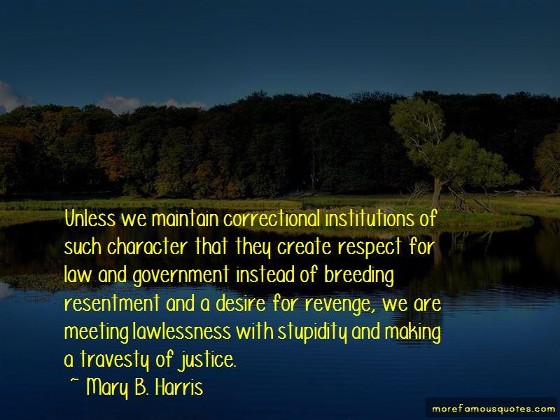 Mary B. Harris Quotes