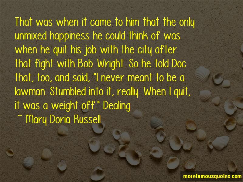 Mary Doria Russell Quotes Pictures 2