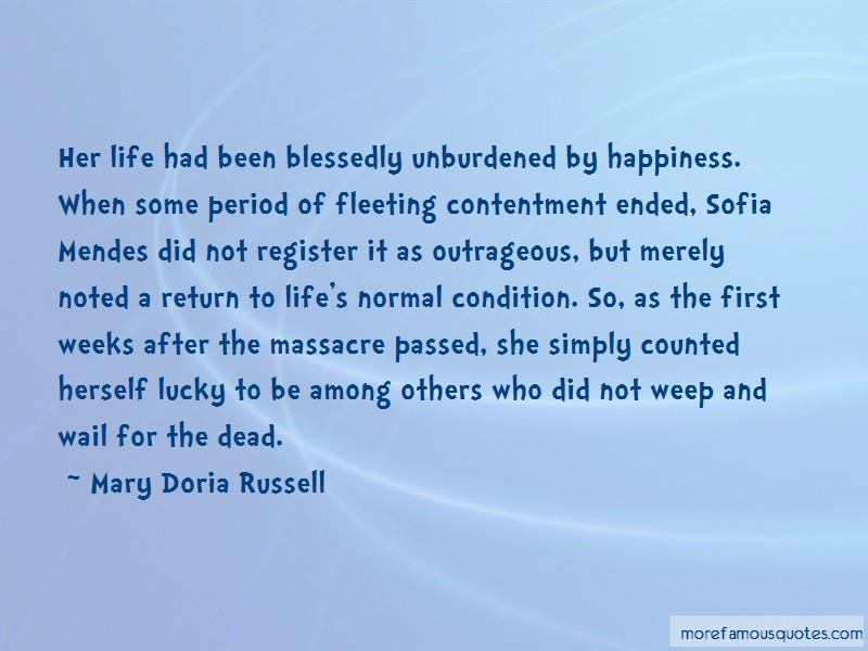 Mary Doria Russell Quotes