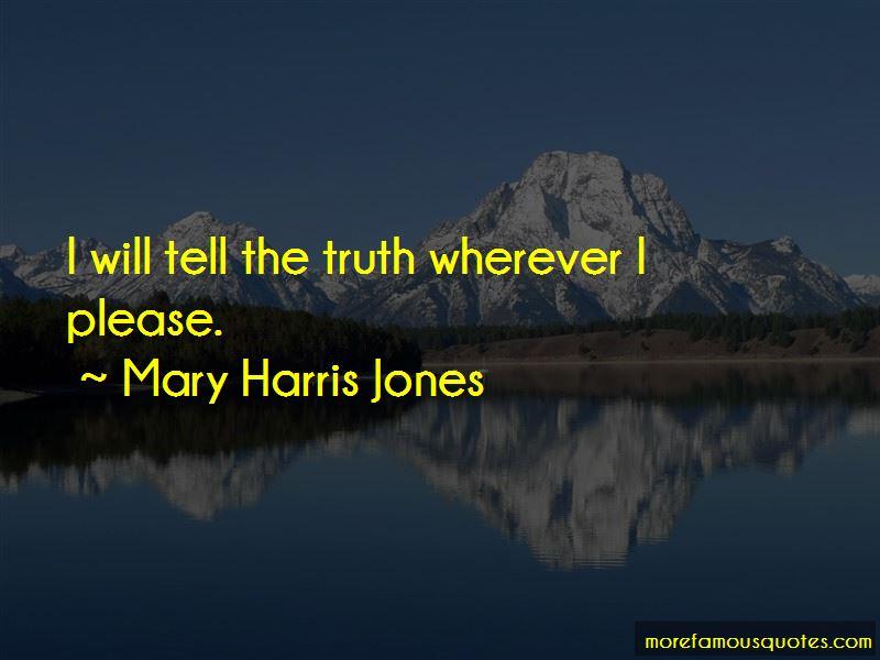 Mary Harris Jones Quotes Pictures 2