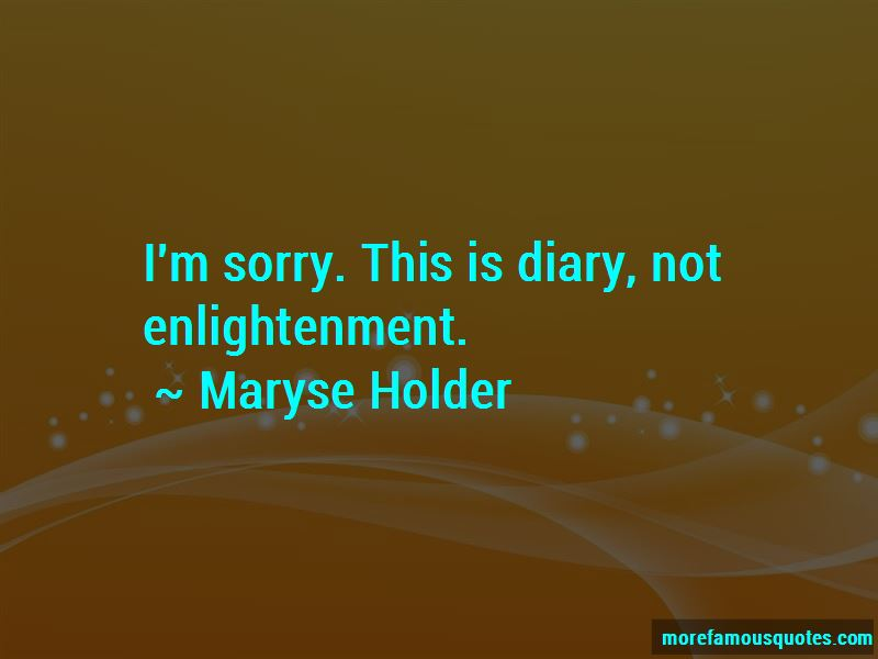 Maryse Holder Quotes Pictures 4