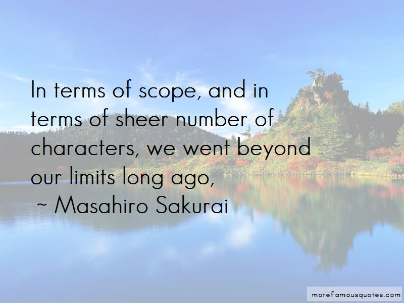 Masahiro Sakurai Quotes