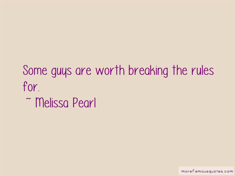 Melissa Pearl Quotes Pictures 2