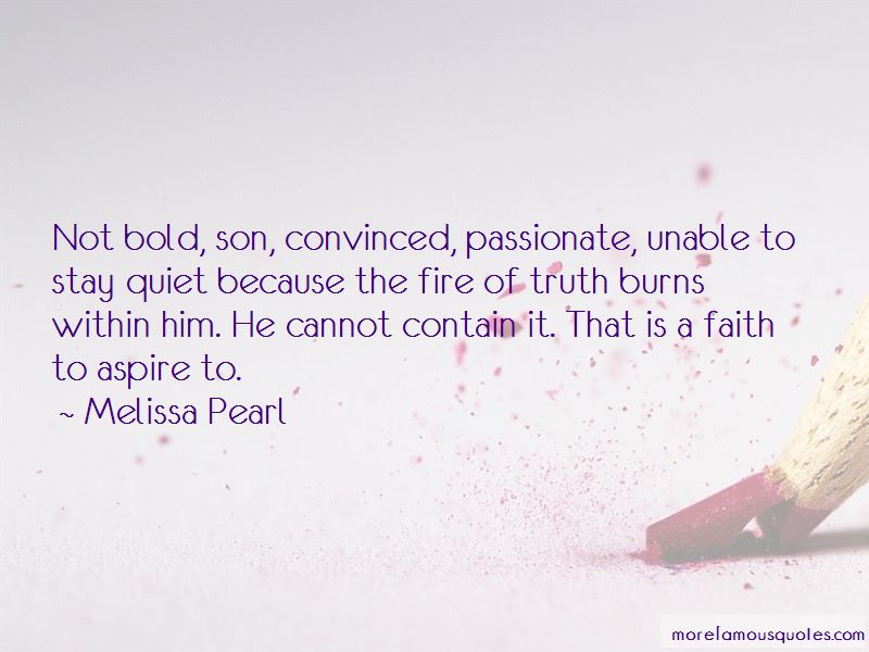 Melissa Pearl Quotes