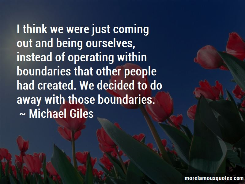Michael Giles Quotes Pictures 2