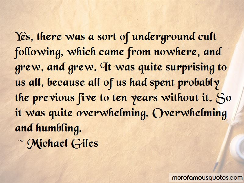 Michael Giles Quotes Pictures 3