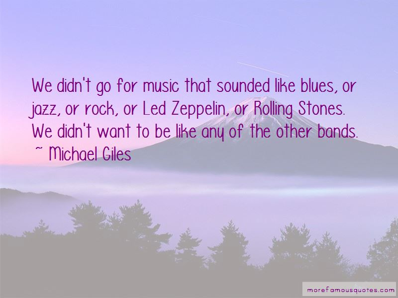 Michael Giles Quotes Pictures 4