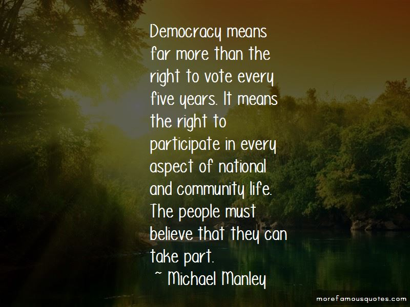 Michael Manley Quotes Pictures 2