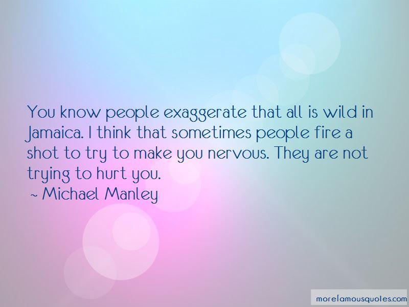 Michael Manley Quotes