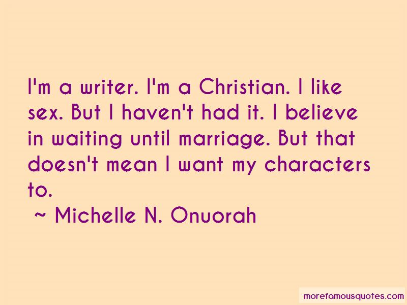 Michelle N. Onuorah Quotes Pictures 3