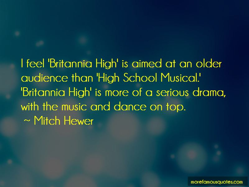 Mitch Hewer Quotes Pictures 3