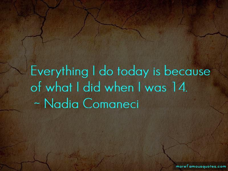 Nadia Comaneci Quotes