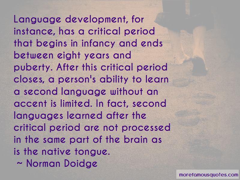 Norman Doidge Quotes