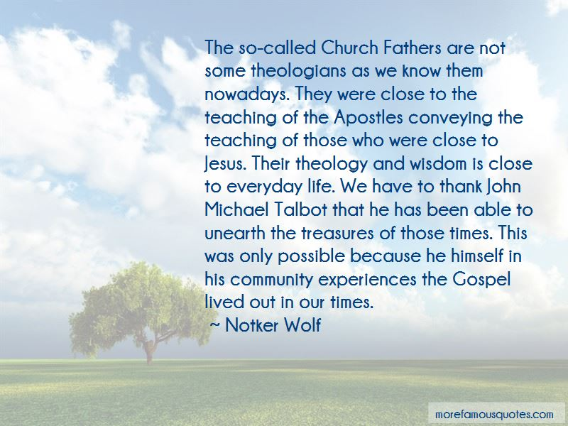 Notker Wolf Quotes Pictures 3