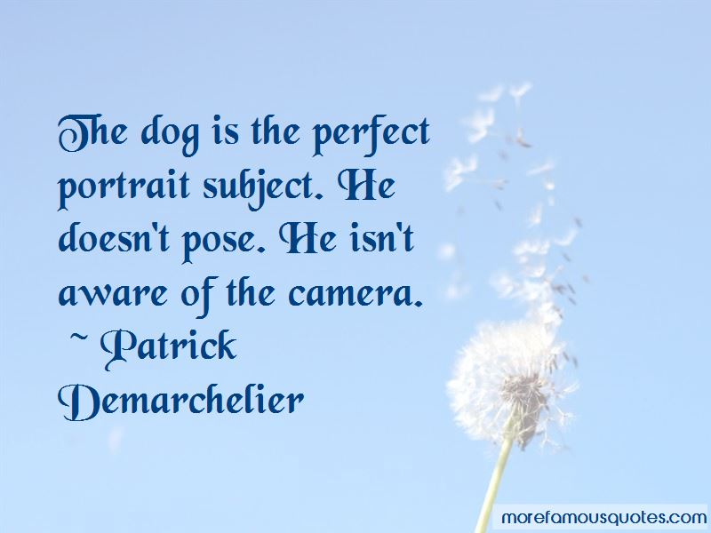 Patrick Demarchelier Quotes Pictures 3
