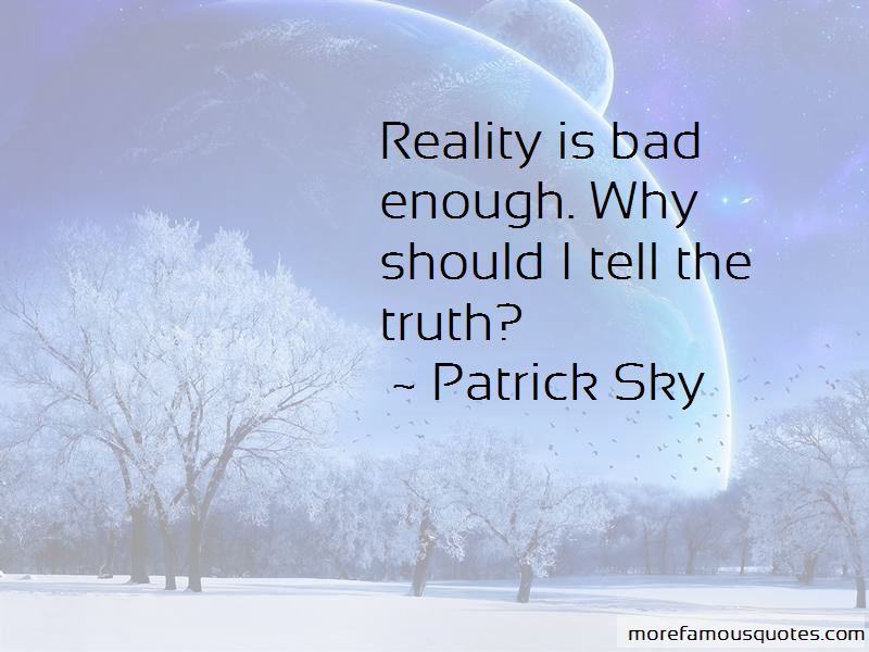 Patrick Sky Quotes