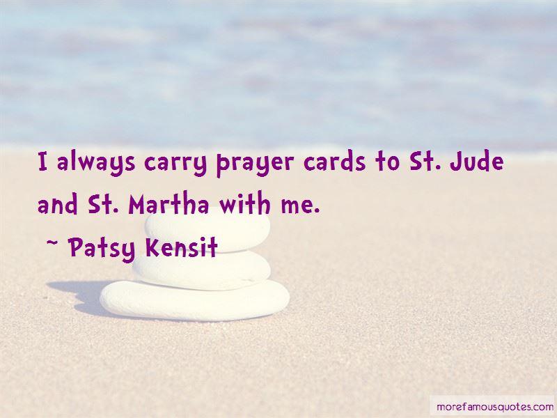 Patsy Kensit Quotes