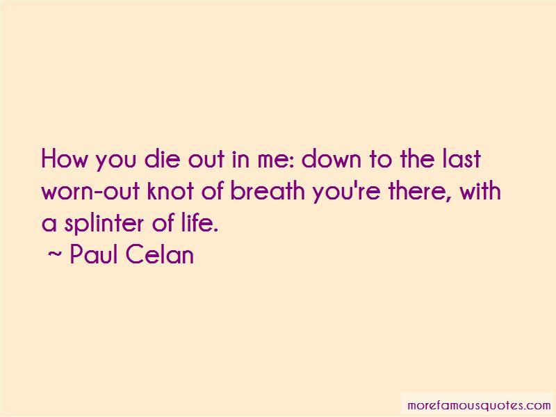 Paul Celan Quotes Pictures 2