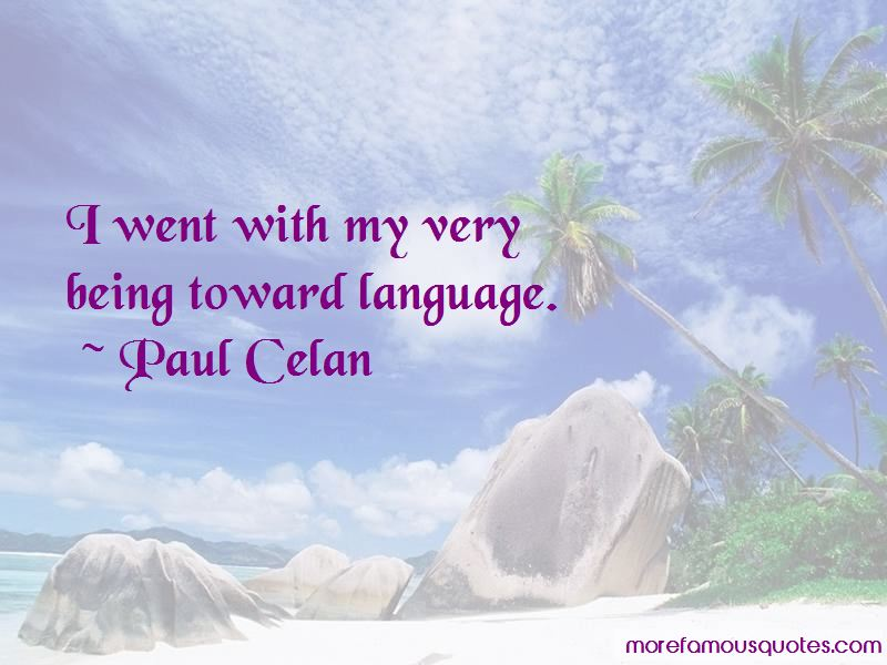 Paul Celan Quotes Pictures 3