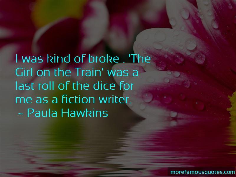 Paula Hawkins Quotes