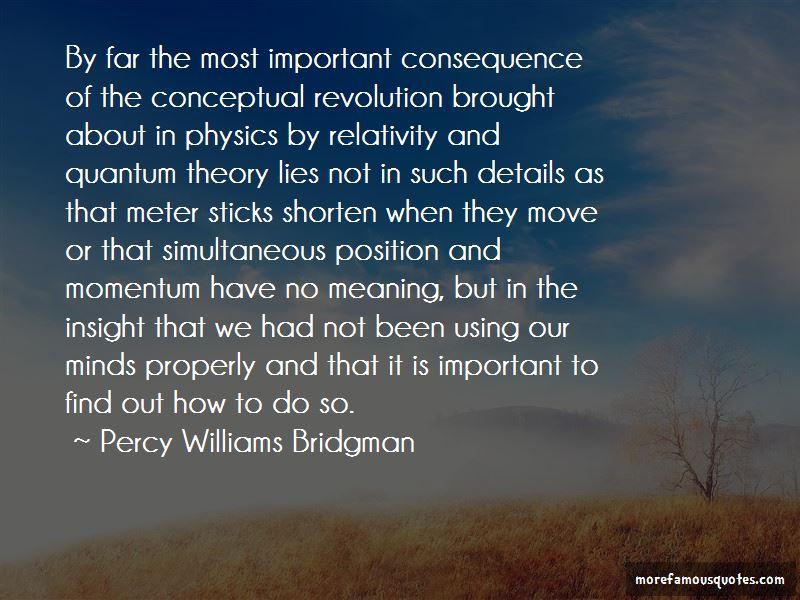 Percy Williams Bridgman Quotes Pictures 3