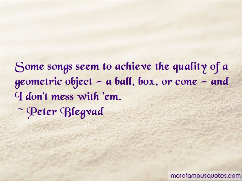 Peter Blegvad Quotes Pictures 3