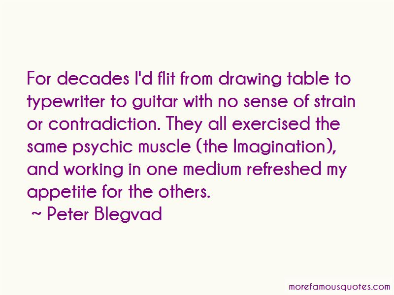 Peter Blegvad Quotes Pictures 4