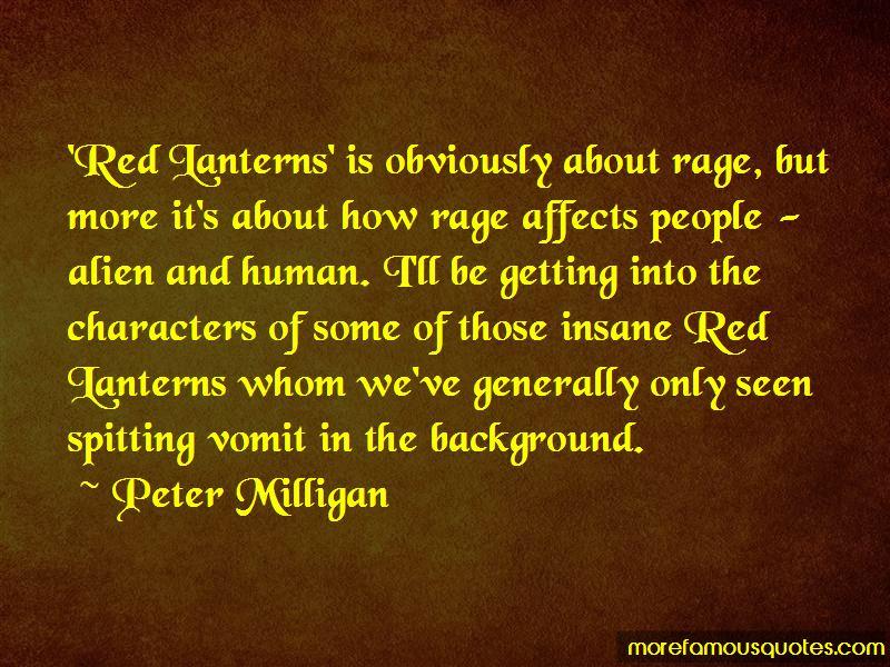 Peter Milligan Quotes Pictures 3