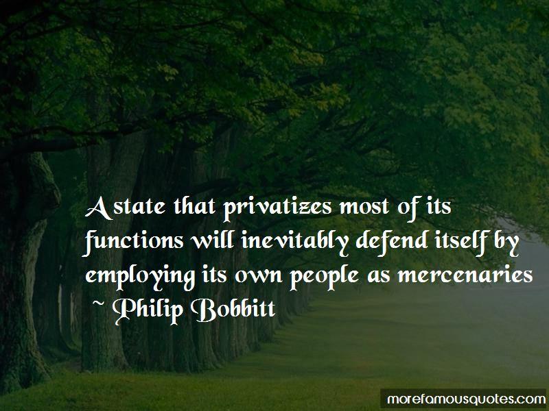 Philip Bobbitt Quotes